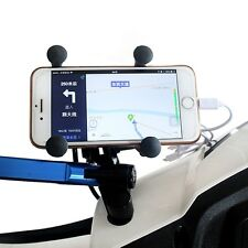 Universal  X-Grip Cellphone Mount Motorcycle Mount Cell Phone Holder USB Charger