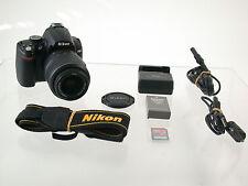 NIKON D5000 digital SLR AF-S VR 18-55 18-55mm 10615 Ausl. Count top  /17