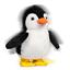 28772 cute FLUFFY Waddles Walking grinçant peluche Dandinons Jouet Dancing Pingouin
