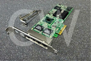 4 Quad-Port Ethernet Card Intel New E1G44ETG2P20 10//100//1000Mbps