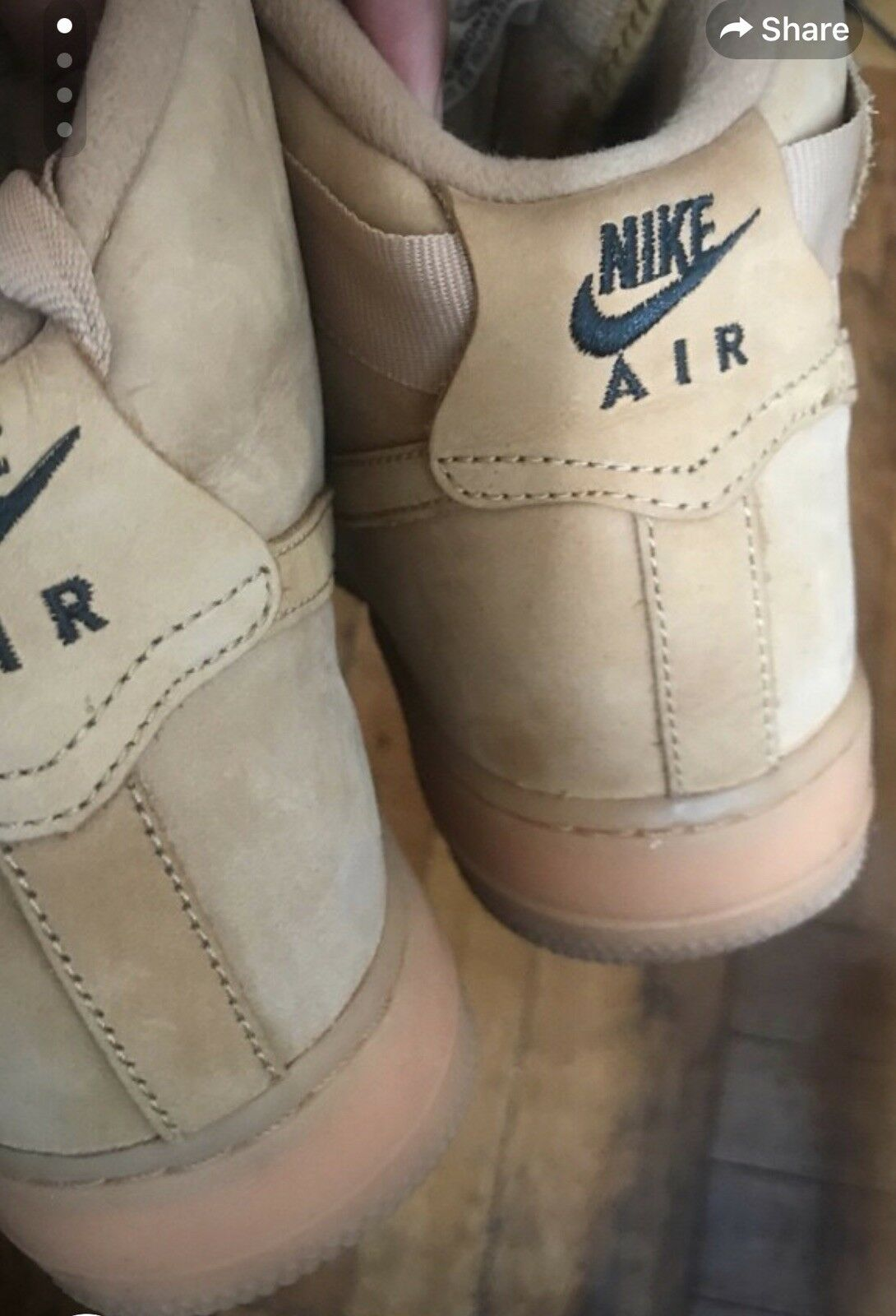 Cheap and beautiful fashion nike air force 1 high flax