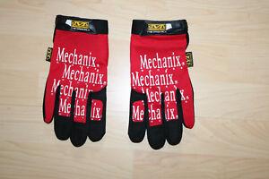 Großhandelsverkauf Bestpreis reduzierter Preis Details zu Mechanix Mechaniker Handschuhe Original rot L XL Neu  Arbeitshandschuhe MTB