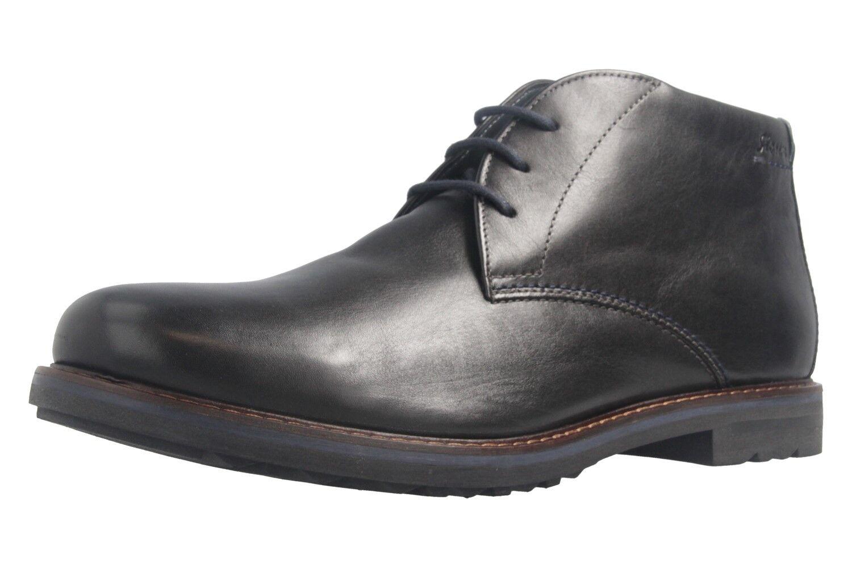 Sioux Stiefel in Übergrößen große Herrenschuhe Schwarz XXL  | Preiszugeständnisse