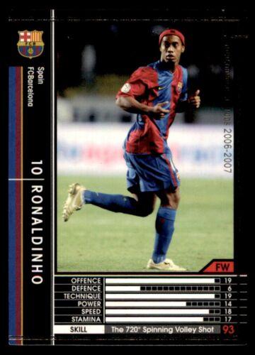 Panini//SEGA FC Barcelone 2006-2007 No 351 WCCF Japon Ronaldinho