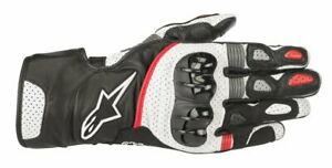 GUANTI-MOTO-ALPINESTARS-SP-2-V2-GLOVES-BLACK-WHITE-RED-PROTEZIONI-CERTIFICATE