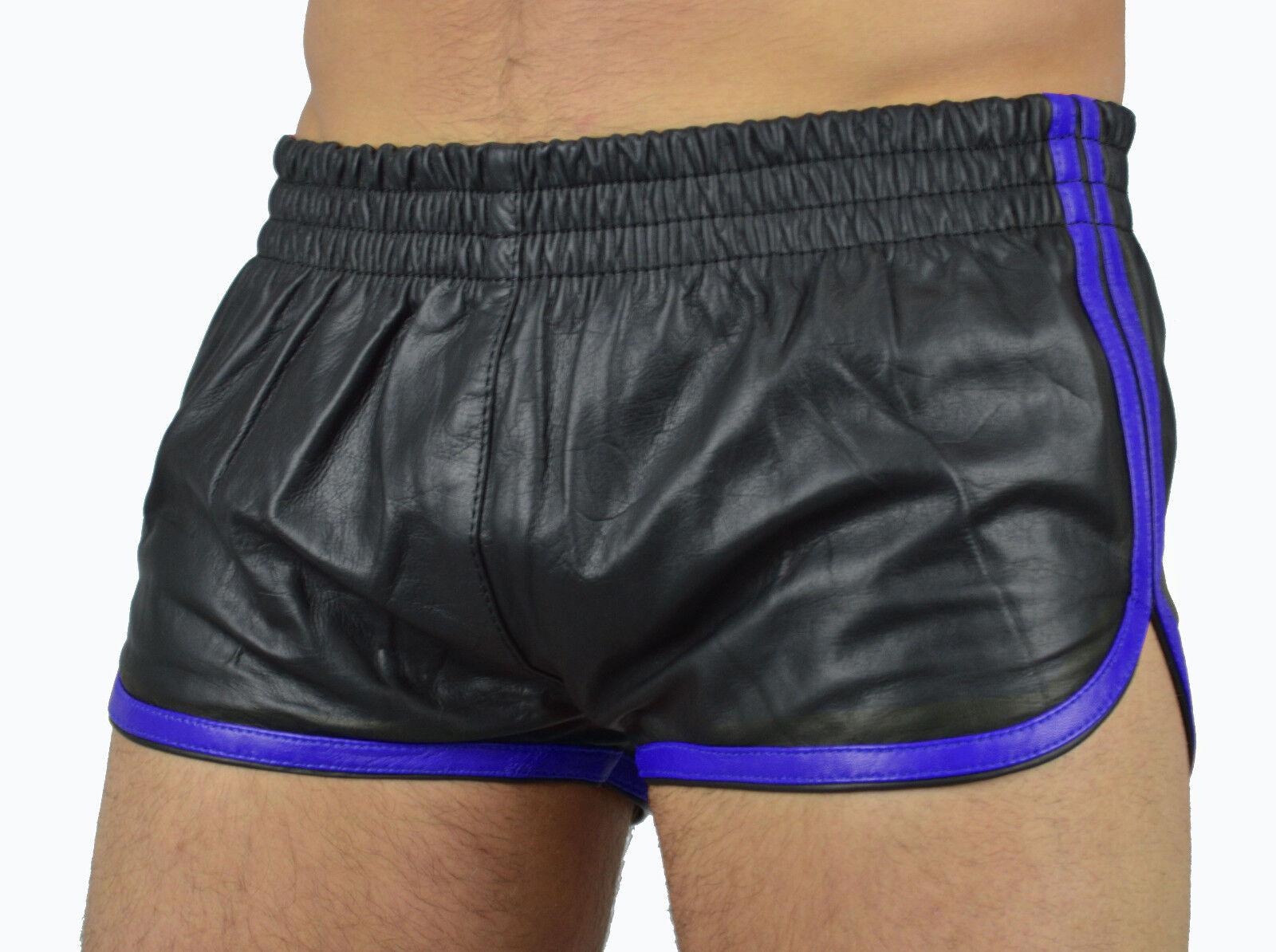 Aw-5400 awanstar ledershorts kurzehose sports shorts leather shorts lederhose