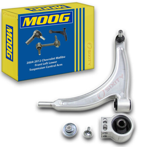 MOOG Front Left Lower Suspension Control Arm for 2004-2012 Chevrolet Malibu ry