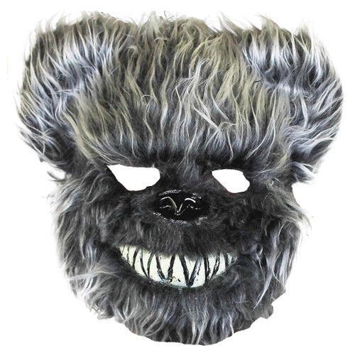 Il Inquietante Spaventoso Animale pelliccia pelosa HALLOWEEN maschera PARTY costume 194 195 196 197