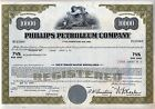 Phillips Petroleum Co. Stock Bond Certificate Oil Gas