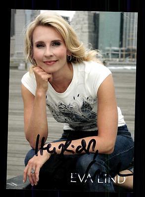 Süß GehäRtet Eva Lind Autogrammkarte Original Signiert ## Bc 100627 Den Menschen In Ihrem TäGlichen Leben Mehr Komfort Bringen Musik