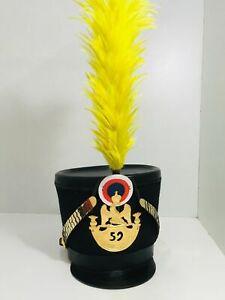 Chako-Pickelhaube-Shako-France-Napoleon-Waterloo-Ligne-Infanterie-Casque-J31