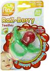 Razberry Baby Silicone Teething Teether Dummy Pacifier Massage Soothe Gums