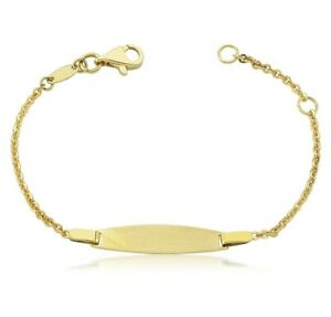 Kinderarmband 333er Gold Gravur Taufarmband Gravurarmband ID-Armband