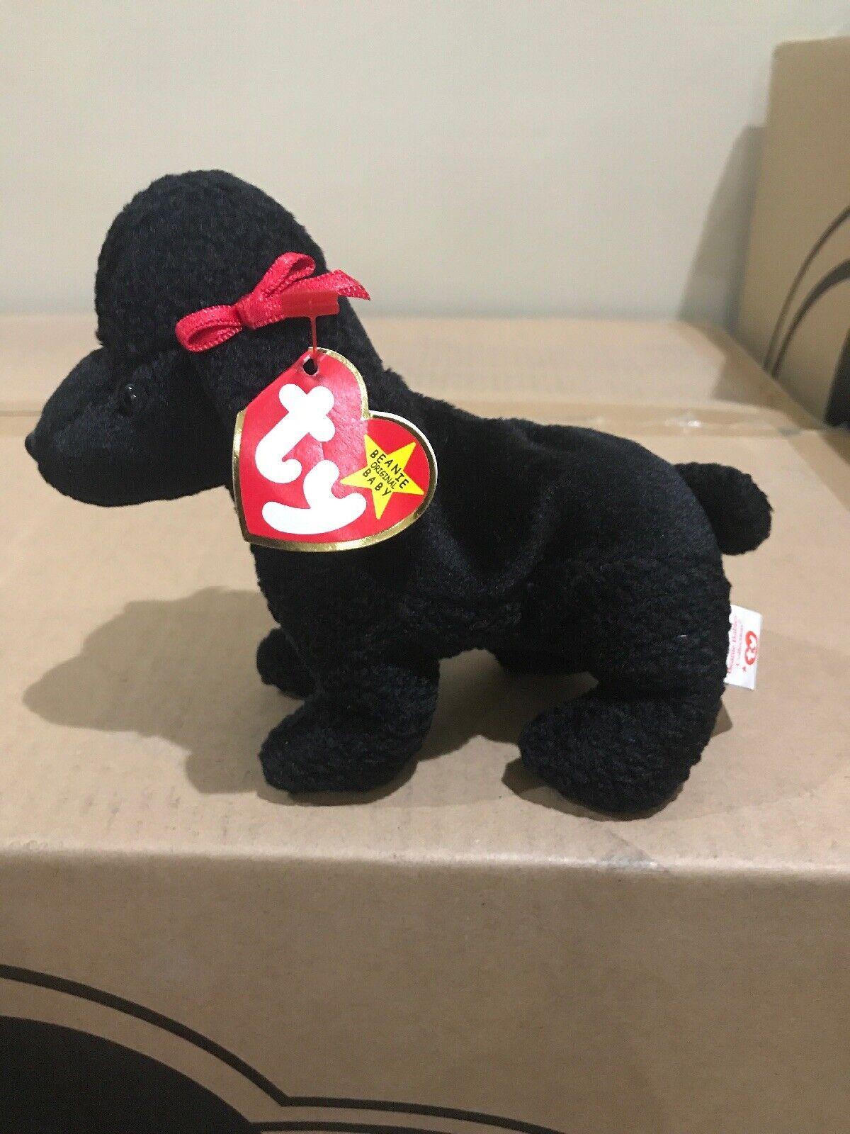 Ty beanie beanie beanie babies RARE retired Gigi Poodle Doggie 384b55