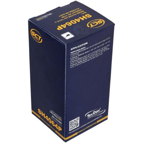 ORIGINALE SCT FILTRO DELL/'OLIO SH 4064 P OIL FILTER
