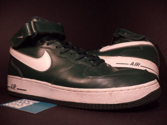 2004 Nike Air Obliger 1 Mid noir FOREST PINE GREEN blanc NORI Gris 306352-311 14