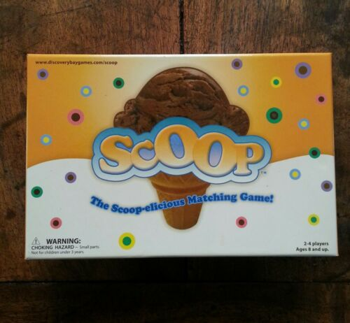 """SCOOP GAME"" ICE CREAM SCOOP MATCHING GAMEDISCOVERY BAY, AGES 8+Free Shipping!"