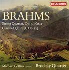 Brahms String QT No 2 Clarinet Quinte 0095115181720 CD P H