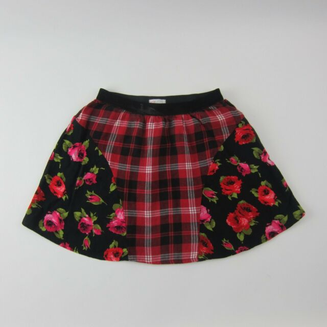 24278fef0 Girls Red Plaid Skirt Size 8 The Children's Place for sale online | eBay