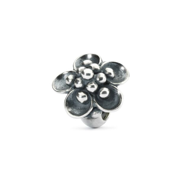 AUTHENTIC TROLLBEAD ORIGINAL SILVER WATER LILY SPACER TAGBE-30137 STOP NINFEE