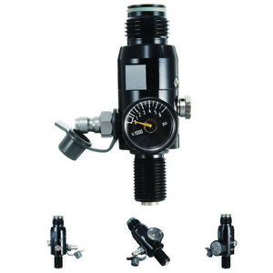 5-8-039-039-18UNF-Thread-Paintball-Air-Tank-Regulator-4500psi-HPA-Valve-Output-2200psi