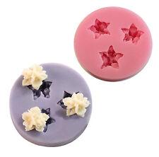 Flowers Silicone Cake Mold Decorating Lace Impression Mat Baking Tool