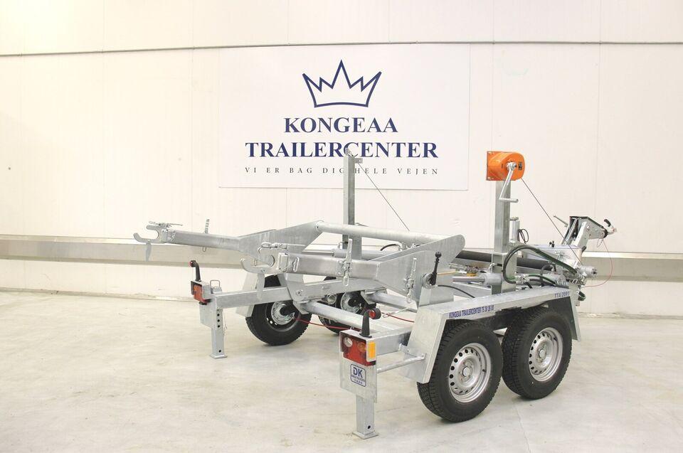 Trailer Kongeaa TTA 2091B - 3500 kg - Med benzinmotor,
