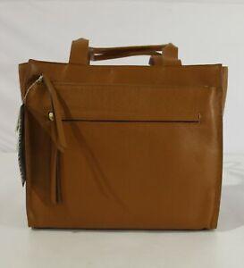 Nordstrom Women's Finn Functional Tote Bag KB8 Rust Pecan 393203NS Large