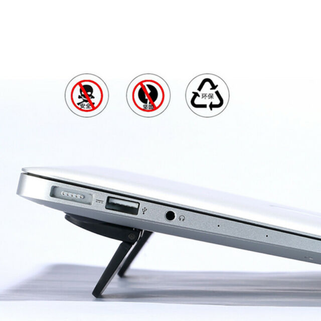 2 PCS Laptop Cooling Feet Stand Notebook Heat Reduction Pad Holder Accessories