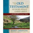 What the Old Testament Authors Really Cared about: A Survey of Jesus' Bible by Kregel Publications,U.S. (Hardback, 2013)