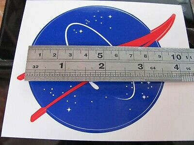 GENUINE NASA MEATBALL3.5  INCH  DECAL STICKER