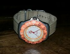 Vintage Tag Heuer Professional Original Formula 1 200 Meters Diver Watch Orange