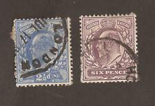 GB 1902 Edward VII. Unchecked for varieties, perfs or watermarks