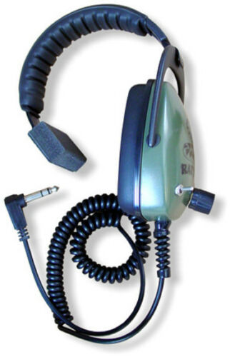 Detector Pro Rattler Headphones with Volume Control and Angled Plug