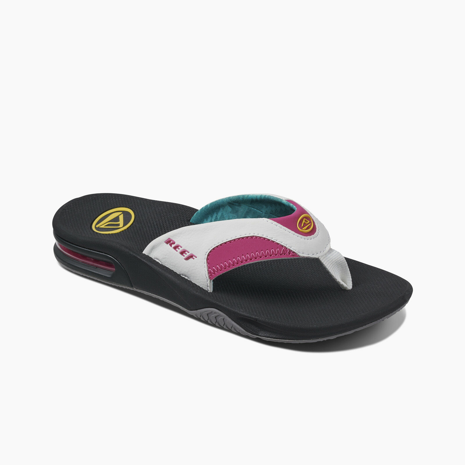 Reef Femme Flip Flops. Fanning Arch Support water friendly Sandal Tongs 9 S 26 B