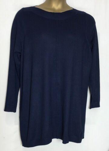 Tunica in maglia fine Evans Maglione Top 3 Colori Taglie 14-30//32 NUOVO e-18s