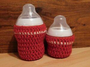 Mano de ganchillo bebé Botella Cubierta Para Mam Easy Start y Dr Brown
