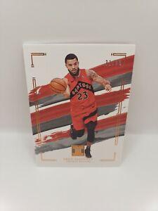 Fred VanVleet 20-21 Impeccable Basketball Base #31/99 Raptors