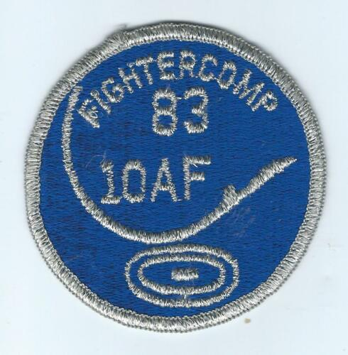 10th AIR FORCE 1983 FIGHTER COMP patch