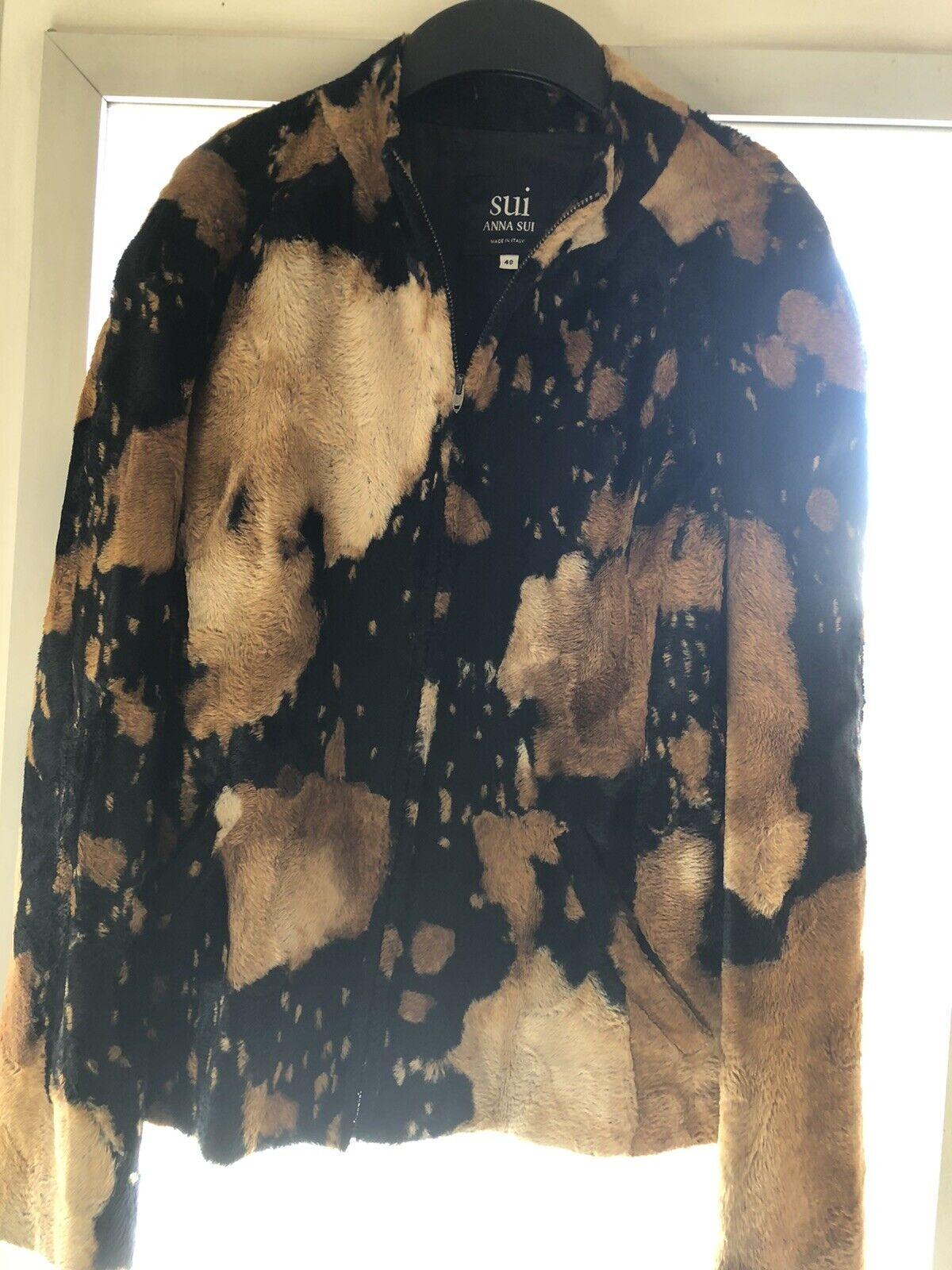 Pre Owned SUI-Anna Sui Vintage Ladies Jacket,Size… - image 3
