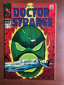 Doctor-Strange-173-1968-6-0-FN-Marvel-Key-Issue-Silver-Age-Stan-Lee-Comic