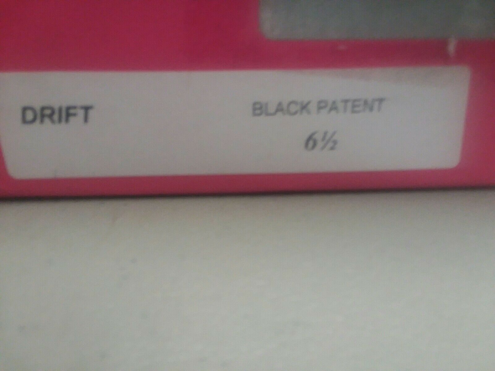 Bomba de deriva NWB NWB NWB Mantequilla Para Mujer, Negro Patente, 6.5 M  descuento de ventas en línea