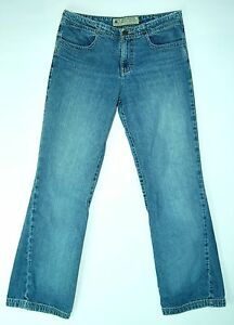 WORN-Boot-Cut-Mid-Rise-AMERICAN-EAGLE-OUTFITTERS-100-Cotton-Jeans-6