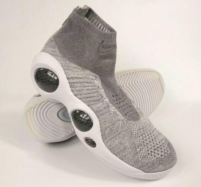 8a5732445cc0 Nike Flight Bonafide Wolf Jason Kidd Platinum Grey White 917742 002 Size 10  New
