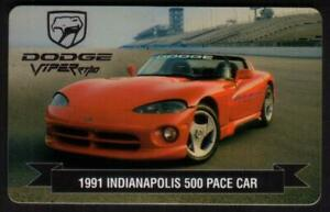 Dodge Viper GTS (2x Indy Pace Cars & GT-1 Race Car) Set of 3 Phone Card