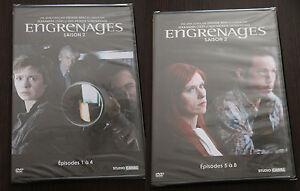 DVD-Serie-ENGRENAGES-Integrale-SAISON-2-en-2-DVD-8-episodes-NEUF-sous-BLISTER