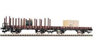 Fleischmann-520956-2-teiliges-Rungenwagen-Set-DB-Epoche-III-H0-1-87-NEU-OVP