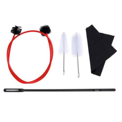 Trompete Wartung Reinigung Pflege Kit Pinsel Schlange Reinigung Tuch