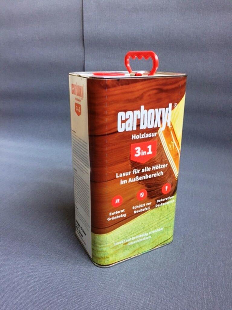 (GP /L) 10 L CARBOXYL 3 in 1 Holzlasur Lasur Zaunlasur Holzschutzlasur Neu