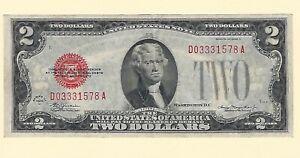 1928-D-Frn-Federale-Reserve-Currency-Due-Dollari-Au-Quasi-Fior-di-Conio